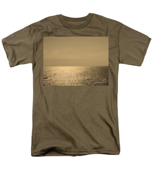 Calm Arabian Sea Men's T-Shirt  (Regular Fit) by Mini Arora