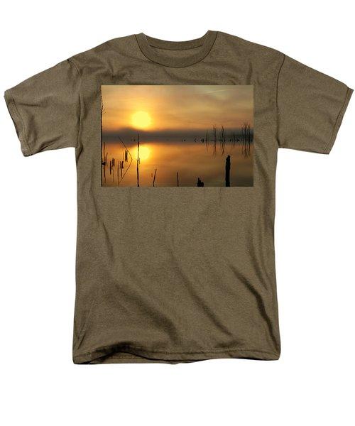 Calm At Dawn Men's T-Shirt  (Regular Fit) by Roger Becker
