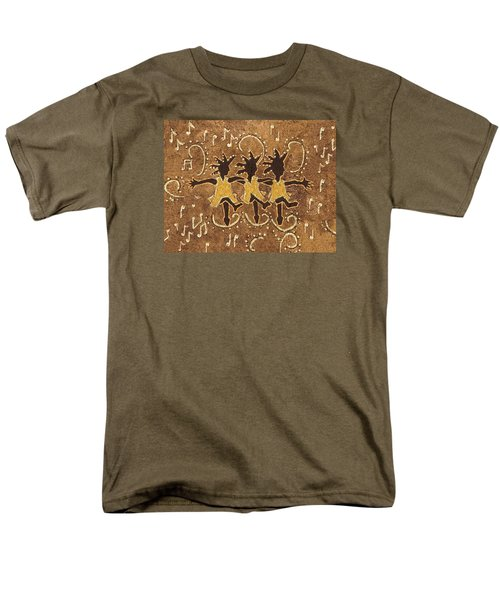 Can Can Dancers Men's T-Shirt  (Regular Fit) by Katherine Young-Beck