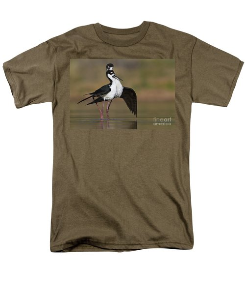 Men's T-Shirt  (Regular Fit) featuring the photograph Can I Have This Dance by Bryan Keil