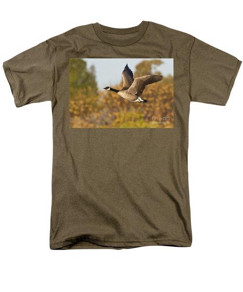 Canada Goose In The Skies  Men's T-Shirt  (Regular Fit) by Bryan Keil
