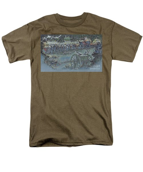 Canister Wait Men's T-Shirt  (Regular Fit) by Scott and Dixie Wiley