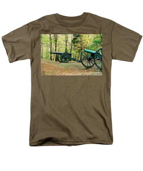 Cannons I Men's T-Shirt  (Regular Fit) by Anita Lewis