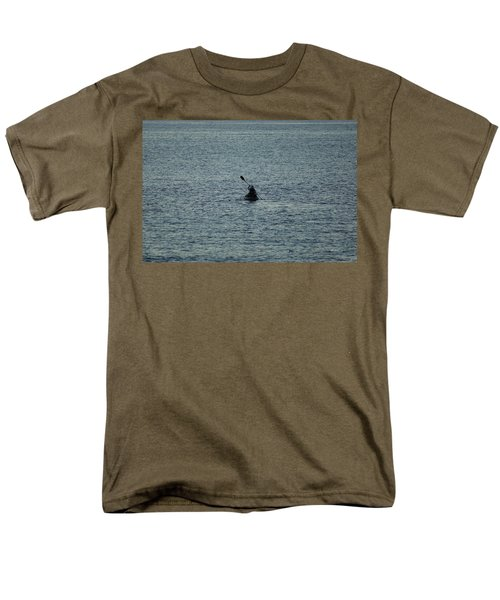 Men's T-Shirt  (Regular Fit) featuring the photograph Canoeing In The Florida Riviera by Rafael Salazar