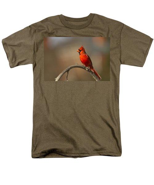 Men's T-Shirt  (Regular Fit) featuring the photograph Cardinal by Jerry Gammon