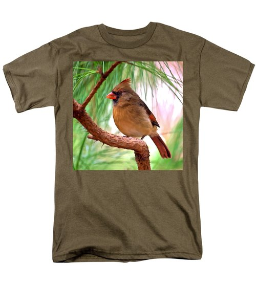 Cardinal Men's T-Shirt  (Regular Fit) by Bob and Nadine Johnston