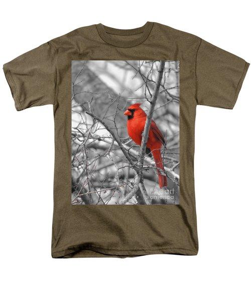 Cardinal Of Hope 002sc Men's T-Shirt  (Regular Fit) by Robert ONeil