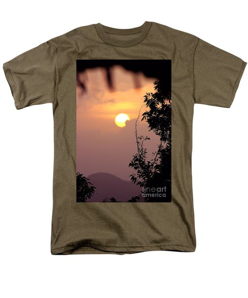 Caribbean Summer Solstice  Men's T-Shirt  (Regular Fit) by The Art of Alice Terrill