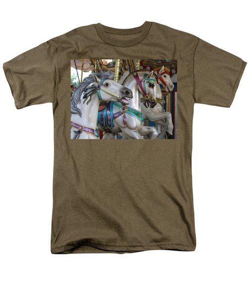 Carousel Men's T-Shirt  (Regular Fit) by Donna Walsh