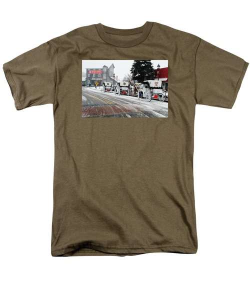 Men's T-Shirt  (Regular Fit) featuring the photograph Carriage Ride by Janice Adomeit