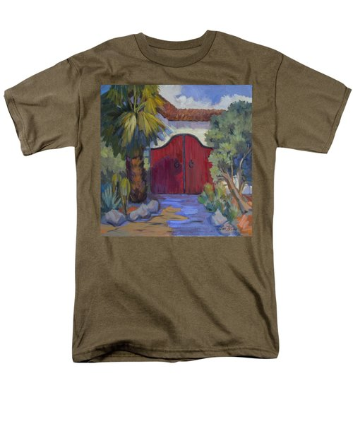 Casa Tecate Gate 2 Men's T-Shirt  (Regular Fit) by Diane McClary