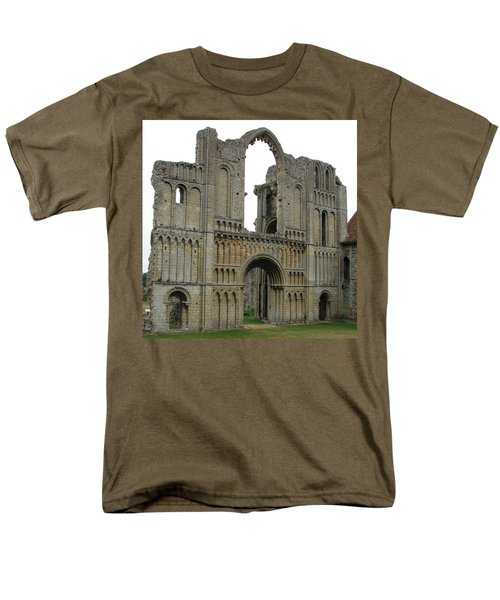 Men's T-Shirt  (Regular Fit) featuring the photograph Castle Acre Abbey by Stephanie Grant