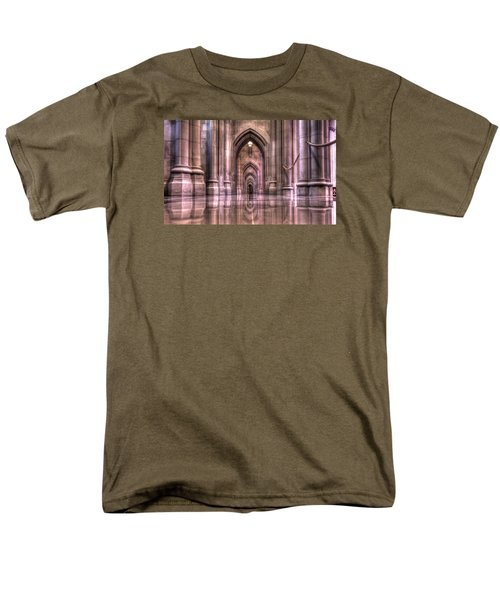 Cathedral Reflections Men's T-Shirt  (Regular Fit) by Shelley Neff