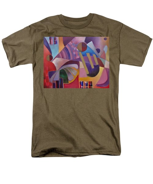 Men's T-Shirt  (Regular Fit) featuring the painting Cerebral Decor by Jason Williamson