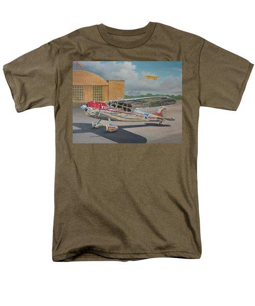 Cessna 195 Men's T-Shirt  (Regular Fit) by Stuart Swartz