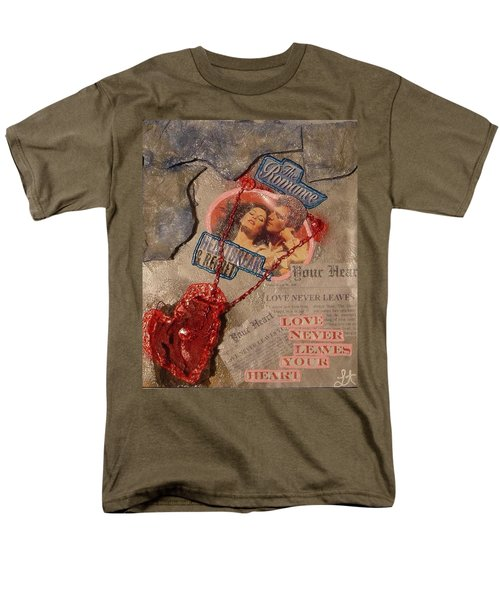 Chains Of Love Men's T-Shirt  (Regular Fit) by Lisa Piper