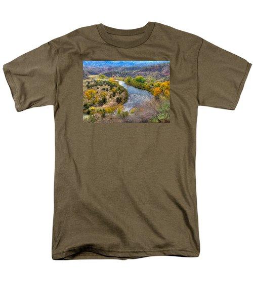 Chama River Overlook Men's T-Shirt  (Regular Fit) by Alan Toepfer