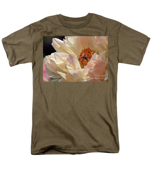 Champagne Peony Men's T-Shirt  (Regular Fit)