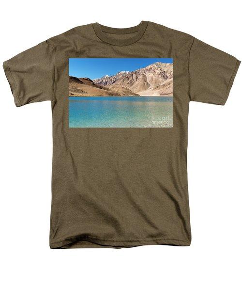 Chandratal Lake Men's T-Shirt  (Regular Fit) by Yew Kwang