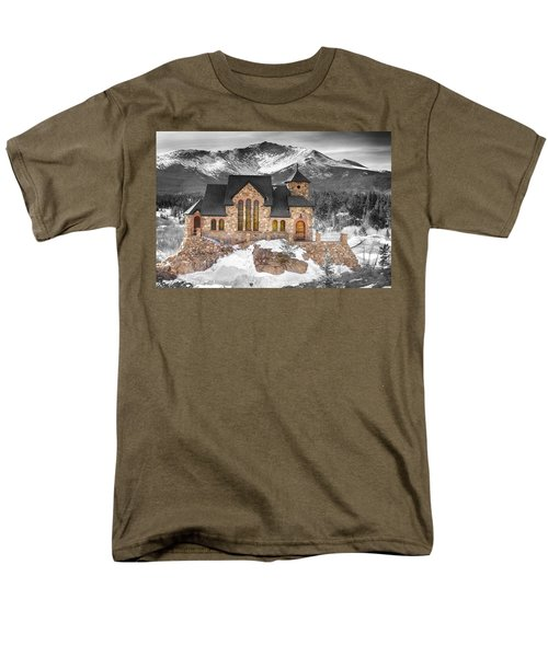 Chapel On The Rock Bwsc Men's T-Shirt  (Regular Fit)