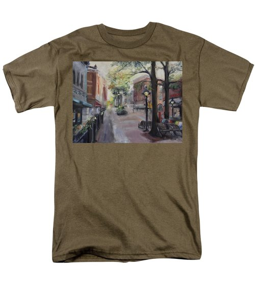 Charlottesville's Historic Downtown Mall Men's T-Shirt  (Regular Fit)