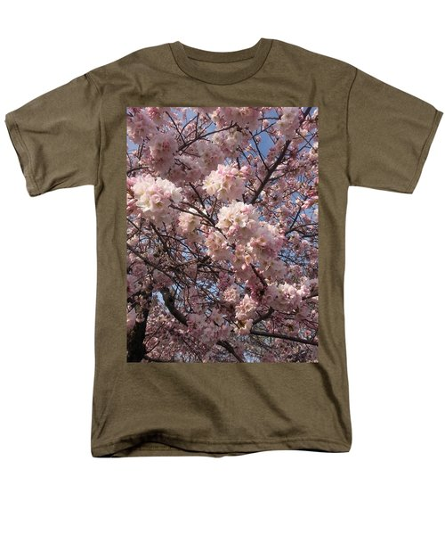 Cherry Blossoms For Lana Men's T-Shirt  (Regular Fit) by Emmy Marie Vickers