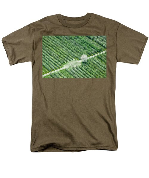 Men's T-Shirt  (Regular Fit) featuring the photograph Cherry Tree by Davorin Mance
