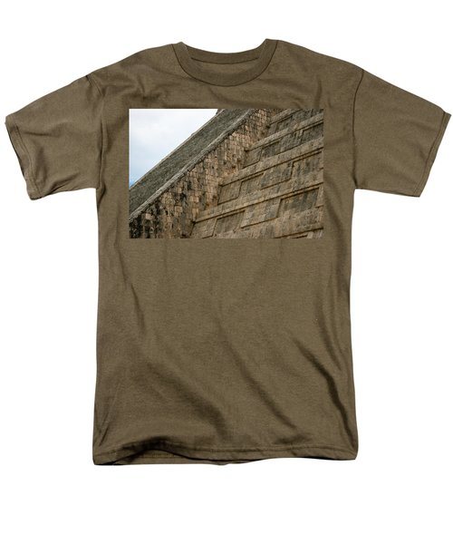 Men's T-Shirt  (Regular Fit) featuring the photograph Chichen Itza by Silvia Bruno