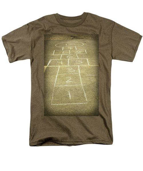 Childhood Games Men's T-Shirt  (Regular Fit) by Fran Riley