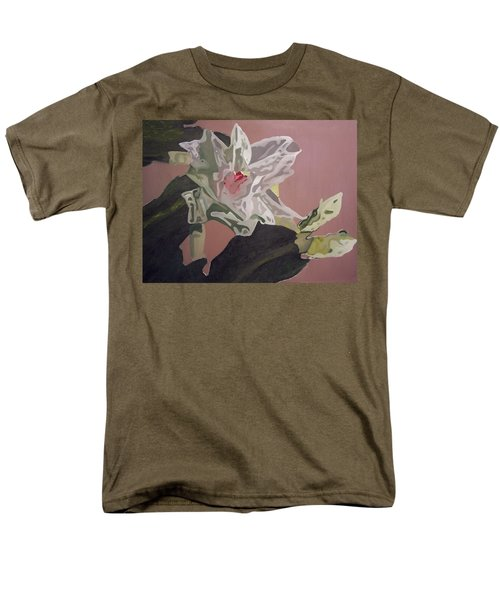 Christmas Bloom Men's T-Shirt  (Regular Fit) by Claudia Goodell