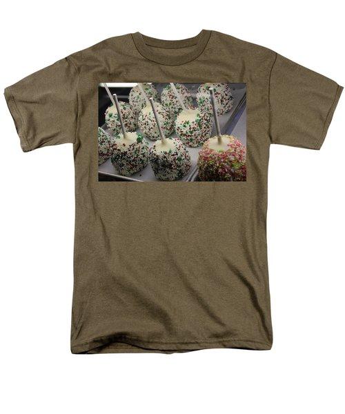 Men's T-Shirt  (Regular Fit) featuring the photograph Christmas Candy Apples by Bill Owen