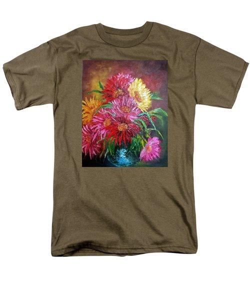Chrysanthemum Men's T-Shirt  (Regular Fit) by Katia Aho