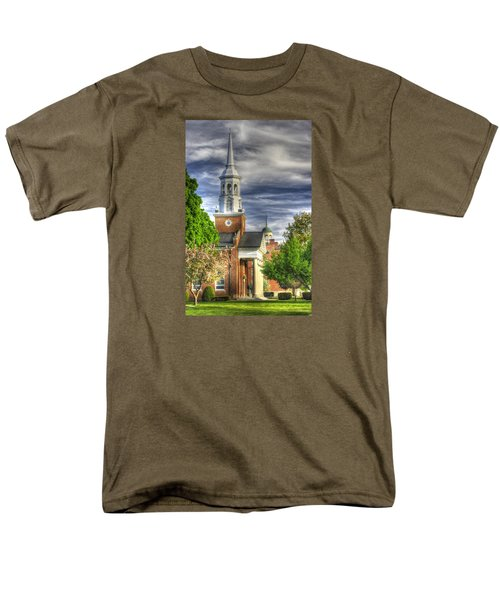 Church Of The Abiding Presence 1a - Lutheran Theological Seminary At Gettysburg Spring Men's T-Shirt  (Regular Fit) by Michael Mazaika