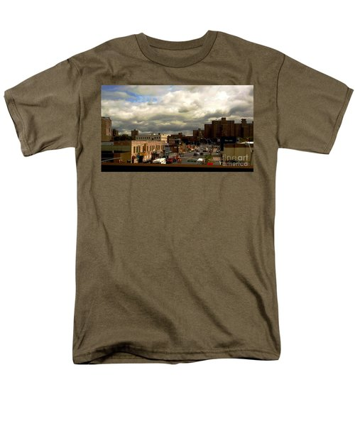 Men's T-Shirt  (Regular Fit) featuring the photograph City And Sky by Miriam Danar