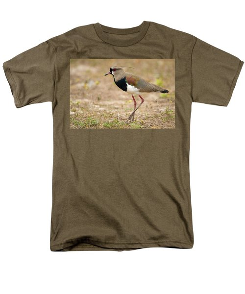 Close-up Of A Southern Lapwing Vanellus Men's T-Shirt  (Regular Fit) by Panoramic Images