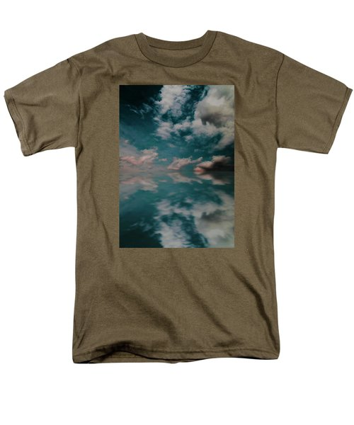 Men's T-Shirt  (Regular Fit) featuring the photograph Cloud Reflections by John Stuart Webbstock