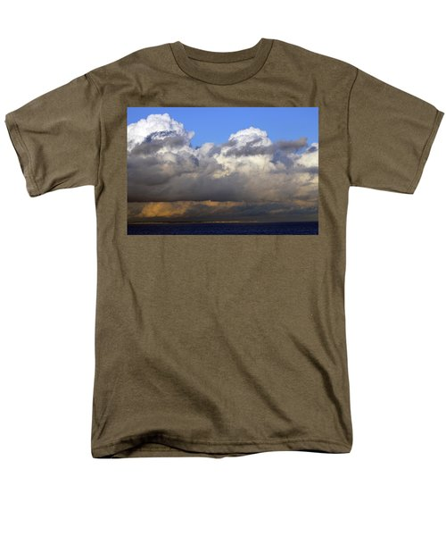 Clouds Over Portsmouth Men's T-Shirt  (Regular Fit) by Tony Murtagh