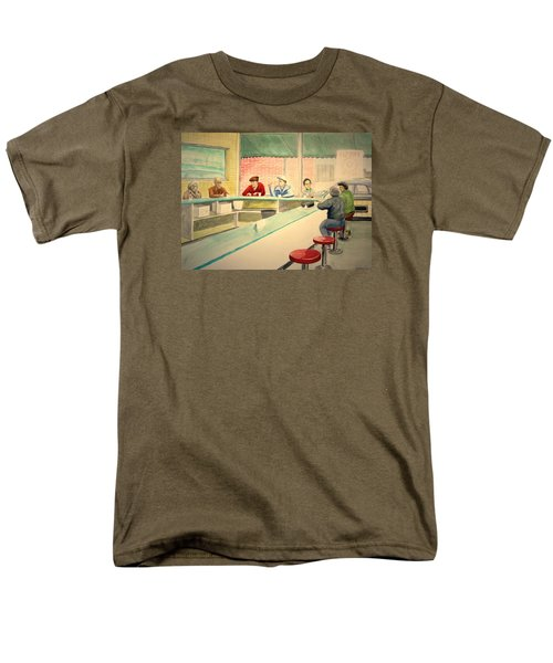 Coffee And Doughnuts Men's T-Shirt  (Regular Fit) by Stacy C Bottoms