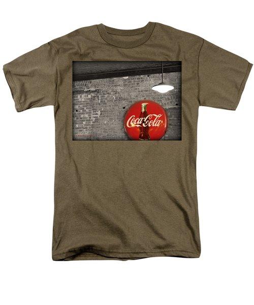 Coke Cola Sign Men's T-Shirt  (Regular Fit) by Paulette B Wright