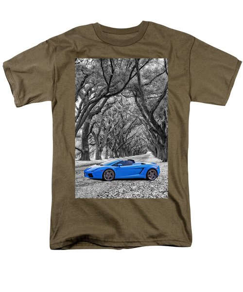 Color Your World - Lamborghini Gallardo Men's T-Shirt  (Regular Fit) by Steve Harrington
