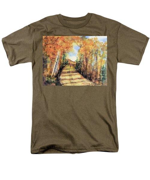Colorado In September Men's T-Shirt  (Regular Fit) by Debbie Lewis