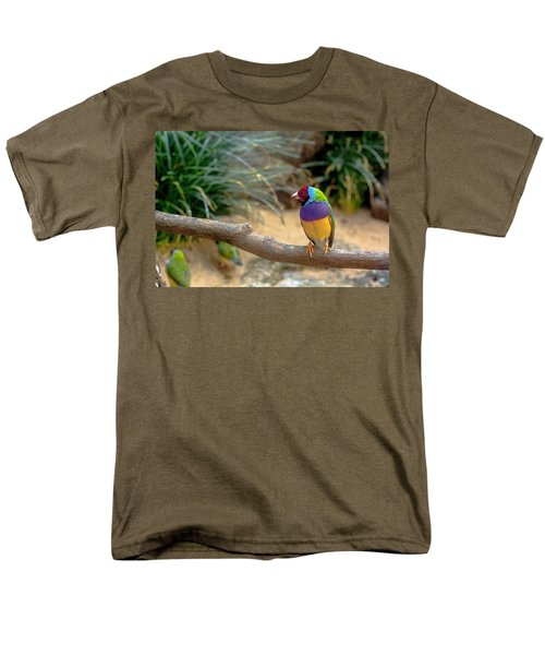 Colourful Bird Men's T-Shirt  (Regular Fit) by Daniel Precht