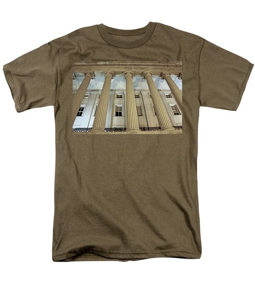 Men's T-Shirt  (Regular Fit) featuring the photograph Columns Of History by Suzanne Stout