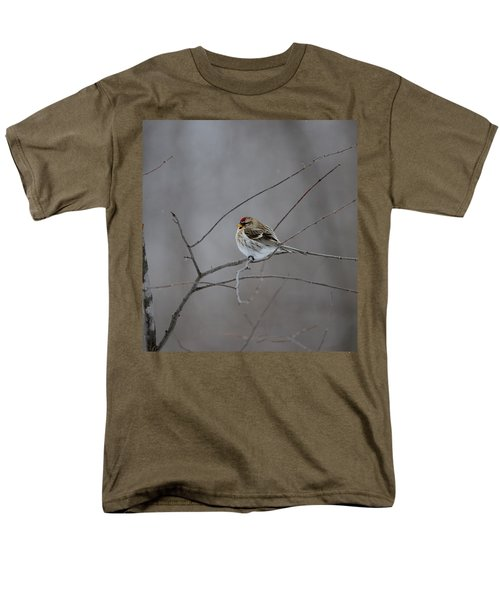 Men's T-Shirt  (Regular Fit) featuring the photograph Common Redpoll by David Porteus