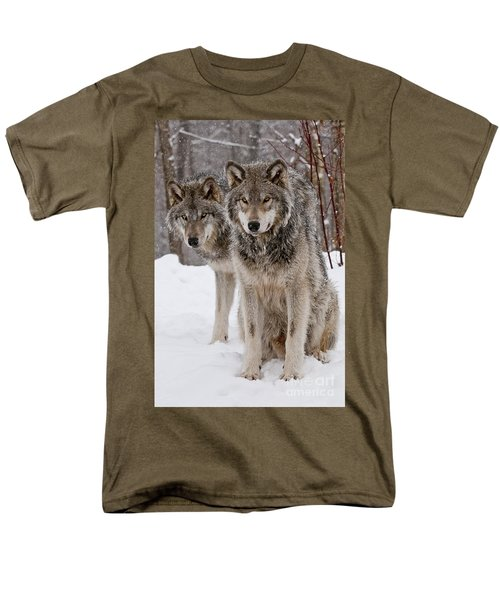 Companions Men's T-Shirt  (Regular Fit) by Wolves Only