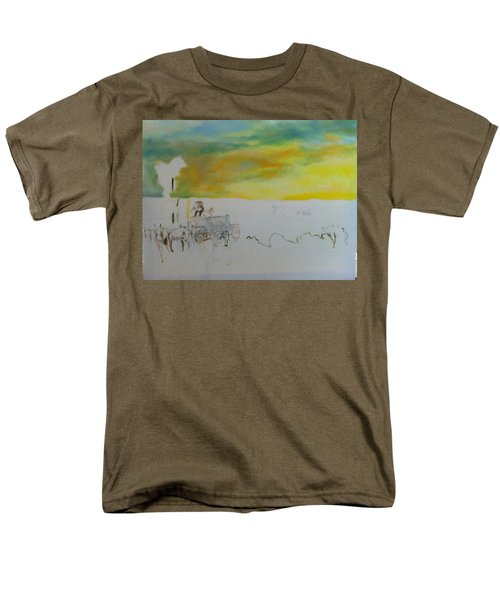 Composition Men's T-Shirt  (Regular Fit) by Mary Ellen Anderson