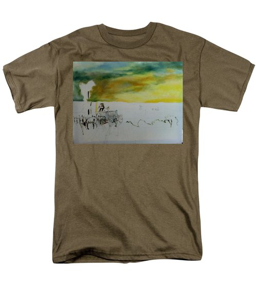Composition2 Men's T-Shirt  (Regular Fit) by Mary Ellen Anderson