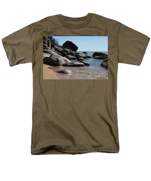 Contrast Men's T-Shirt  (Regular Fit) by Jola Martysz