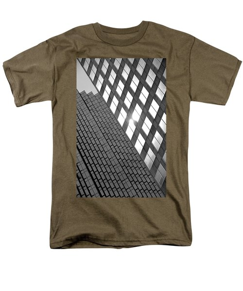 Contrasting Architecture Men's T-Shirt  (Regular Fit) by Valentino Visentini