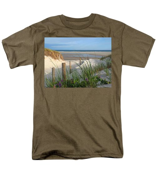 Men's T-Shirt  (Regular Fit) featuring the photograph Cool Of Morning by Dianne Cowen